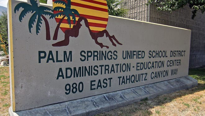 Students in the Palm Springs district produce a podcast.
