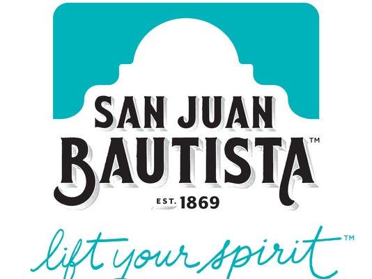San Juan Bautista logo and tagline