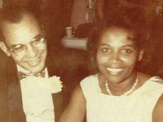 Flint Mayor Karen Weaver's parents, Dr. T. Wendell
