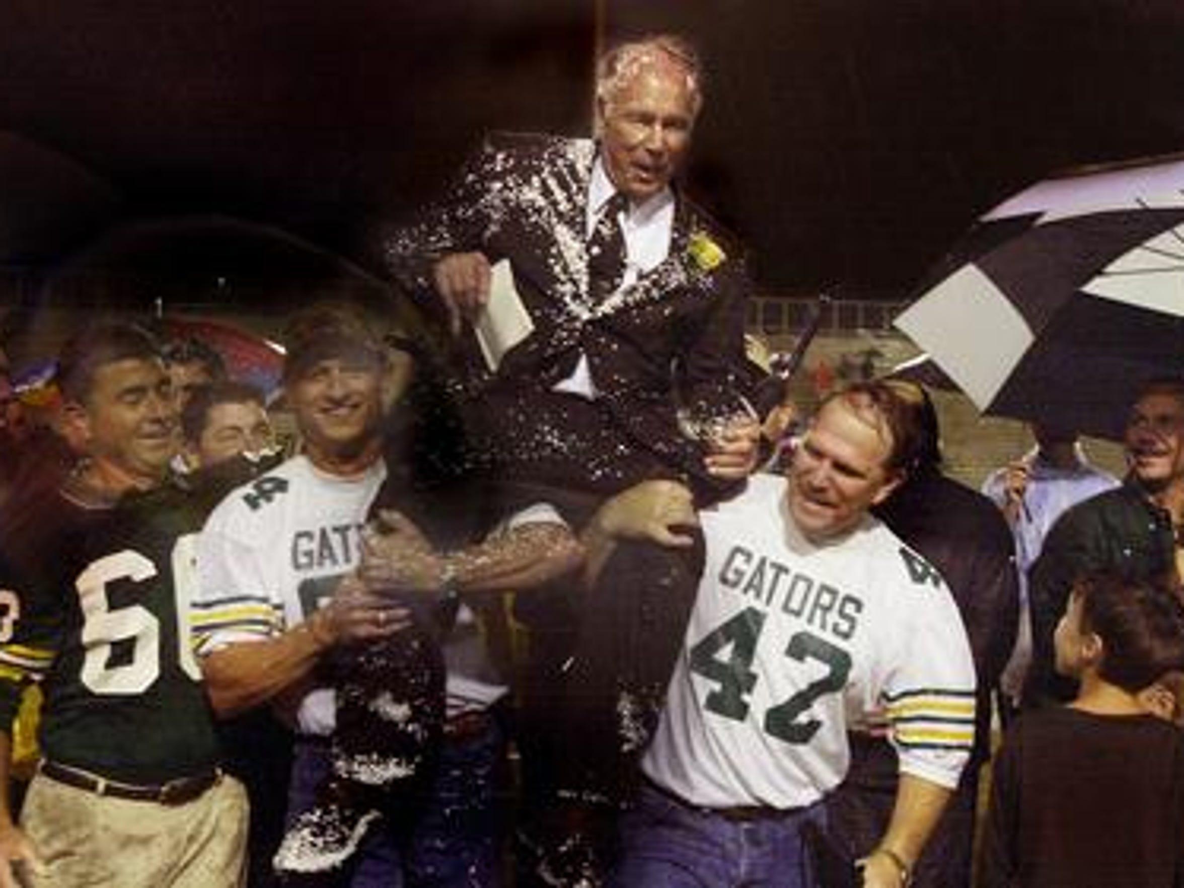 Former Captain Shreve football players Randy Maffett