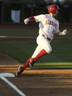 Alabama's Tyler Gentry looks back fondly on his Alabama career as he joins the Kansas City Royals organization.
