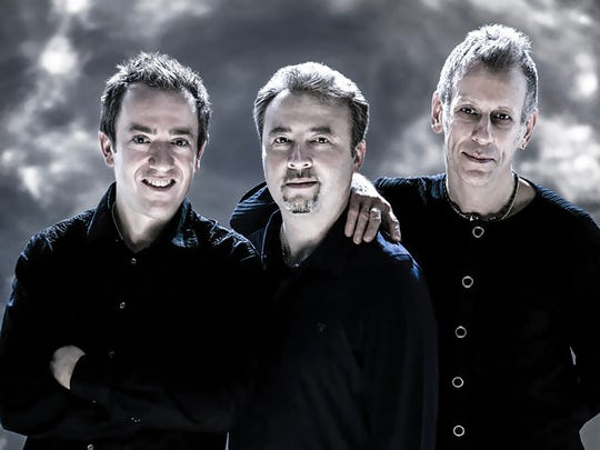 Pianist Geoffrey Keezer, left, with saxophonist Tim Garland and vibraphonist Tim Locke comprise the group Storms/Nocturnes. Keezer will be in a strictly solo format in Rochester.
