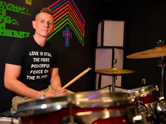 Matt Gleason, youth pastor at First United Methodist