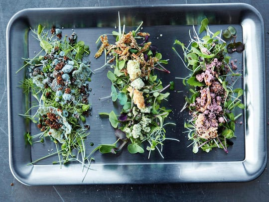 To create a sustainable salad, Space10 grows lettuce