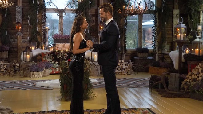 Nick Viall chooses Vanessa Grimaldi in the finale of 'The Bachelor' on ABC.