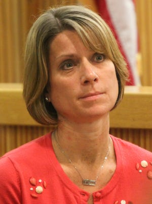 Michelle Heale stands trial for the death of Mason Hess.