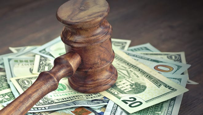 In Arizona, about 59 percent of low-level offenders pay court fees and fines in full and on time. For those who don't, additional fees can add up quickly.