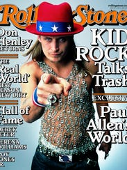 Kid Rock on the cover of Rolling Stone, June 22, 2000