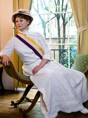 Actress Taylor Williams will portray suffragist Alice