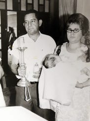 Alfredo Gomez is shown with his wife, Maria Gomez,