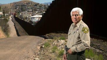 The Arizona lawman challenging President Trump's border wall