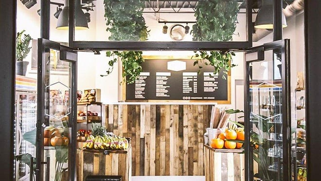 Celis Produce's Royal Poinciana Plaza location, shown, is a sister to Celis' original West Palm Beach store on Dixie Highway. The family-owned business has relaunched its home-delivery service (including to all of Palm Beach) of fresh produce.