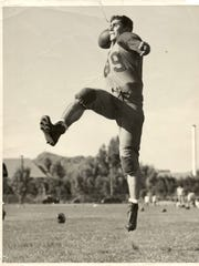 Louis Rappaport, now 100, played varsity football and basketball at Arizona State in 1938 and '39.
