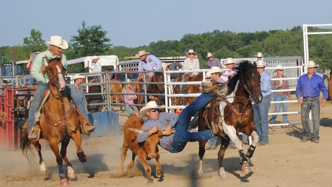 Crowds came out for Monday night's rodeo at the St. Clair County 4-H and Youth Fair.