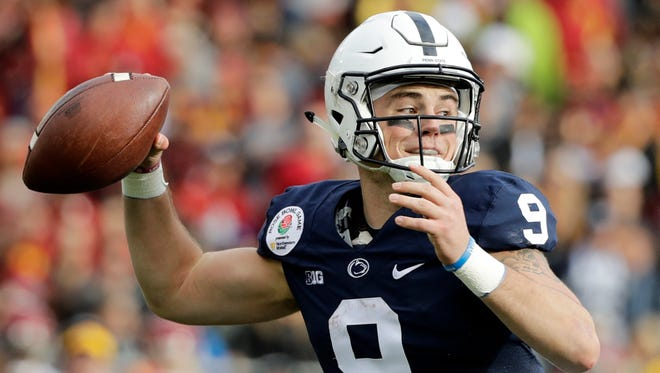 Penn State quarterback Trace McSorley has led the Nittany Lions to a 5-0 start in 2017.