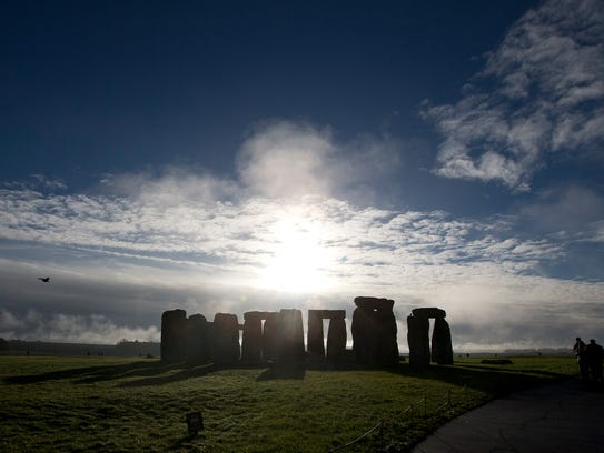 Stonehenge, believed to be about 3,500 years old, is