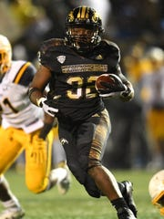 Western Michigan Broncos running back Jamauri Bogan