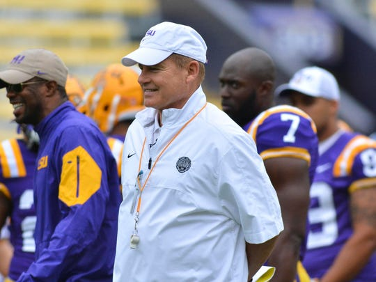 He's available, but would Les Miles be open to coaching
