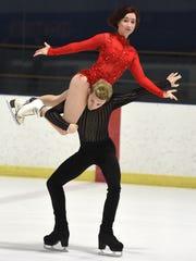 Tish Marsh, 16, and her partner Elliot Verburg, 17,