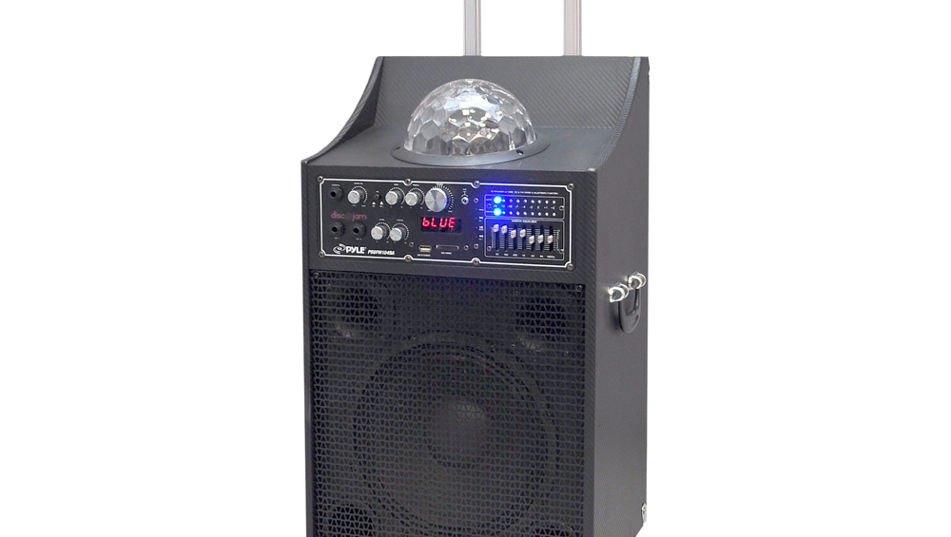 new products disco jam speakers bring the party. Black Bedroom Furniture Sets. Home Design Ideas