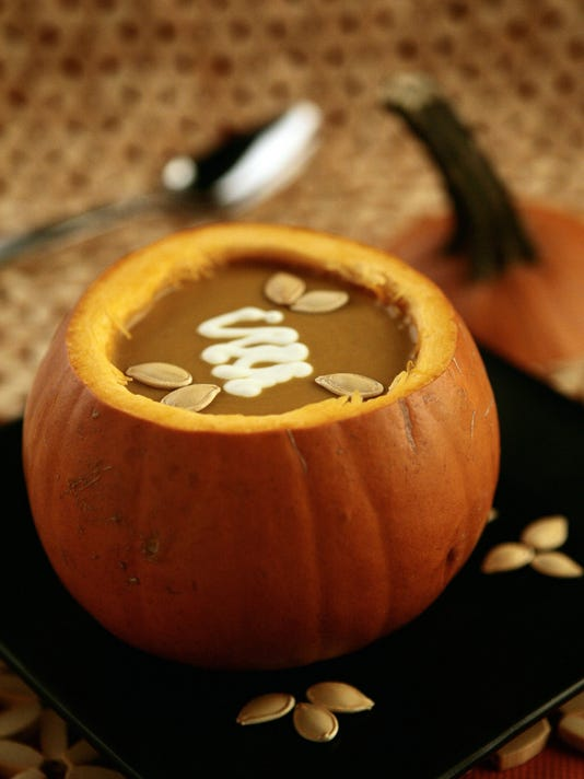 Pumpin' up the pumpkin -- and making more than pie