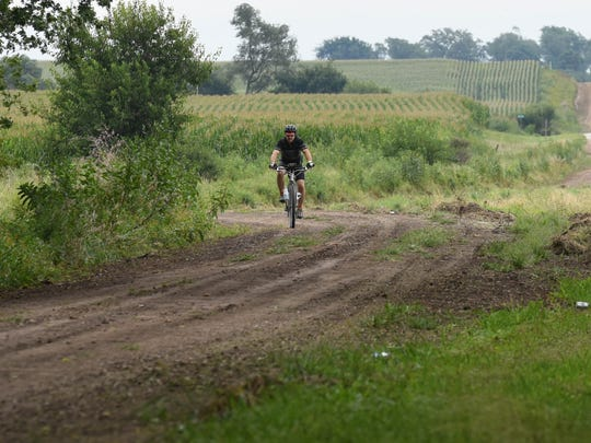 Cycling on gravel and Level B roads is growing in popularity