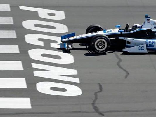 IRL Pocono Auto Racing