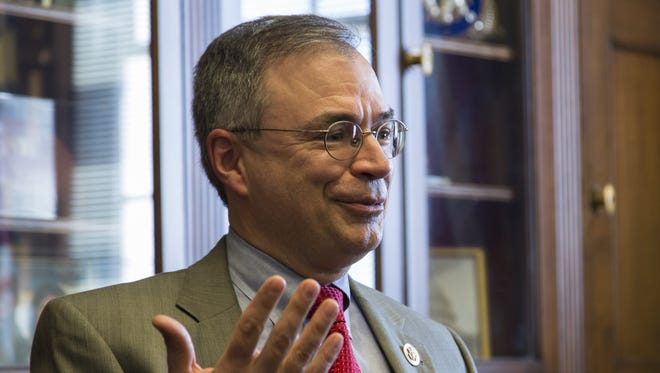 "Andy Harris says of Donald Trump: ""He's the nominee, so I'm going to support him."""