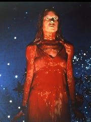 "Sissy Spacek is a bloody mess in ""Carrie."""