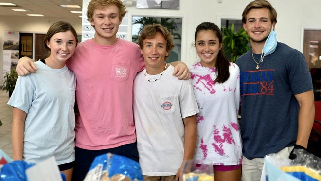 Charlton Strong, Carter Welch, Grayson Spence, Reese Ritchie, Evan Scarbrough, June 28.