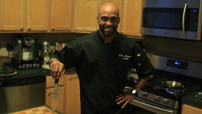 """Chris Burnett of Long Branch will be on Food Network's """"Chopped"""" Jan. 10."""