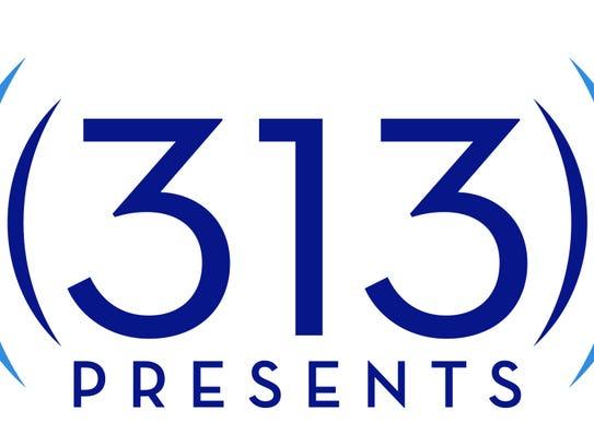 Logo of 313 Presents, the new joint venture between