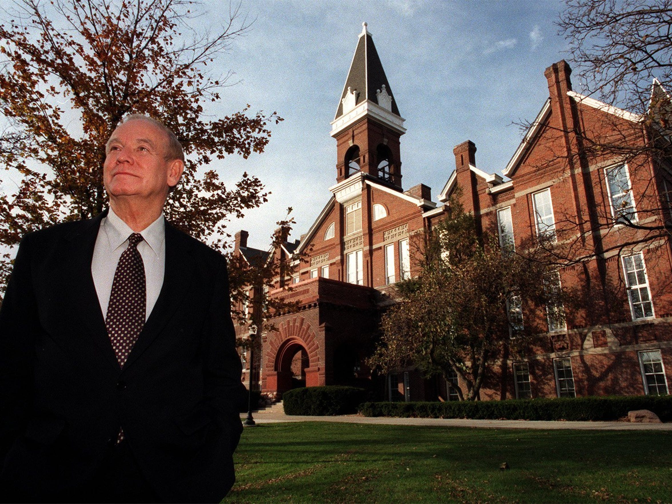 From 1998: Drake University President Robert Ray is