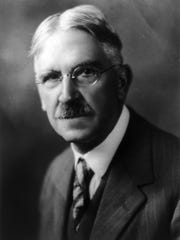Philosopher John Dewey believed that students who were trained to be fed into an existing structure wouldn't help that structure evolve.