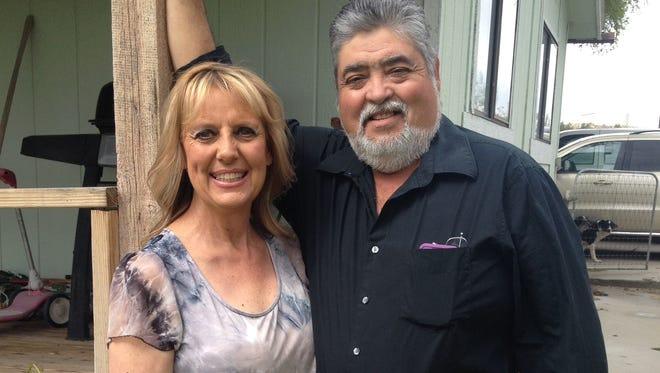 Kimberlie and Salomon Martinez will celebrate their 40th wedding anniversary today.