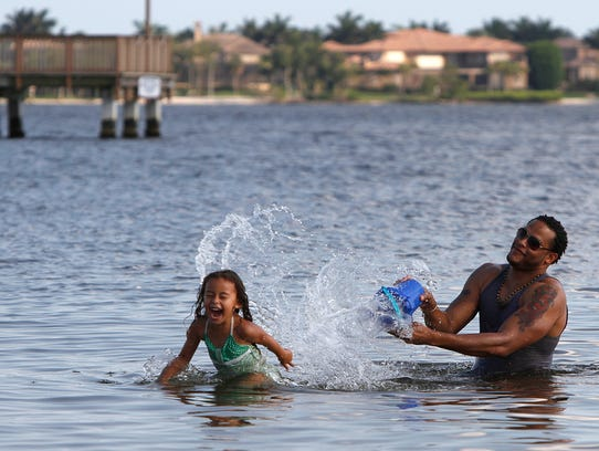 The Department of Health of Lee County issued an advisory for Cape Coral Yacht Club Beach due to high levels of bacteria being found after testing.