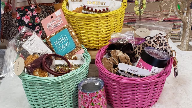 With holidays like Mother's Day and special events like graduation coming up, Moments to remember is offering customized gift baskets.