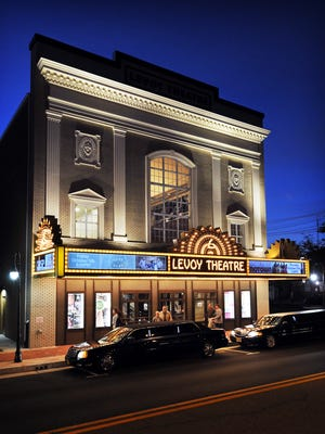 The Levoy Theatre sits at the center of the the Glasstown Arts District of Millville. The venue features concerts, plays and films.