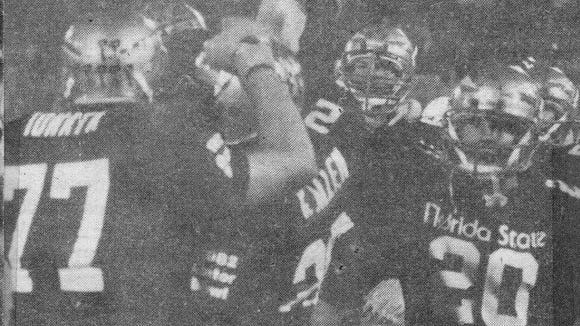 John Ionata (77) during his FSU playing days.