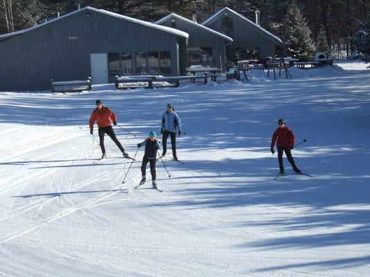 Crosscountry Ski Headquarters groomed trail