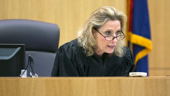 Judge Sherry Stephens rules that the courtroom must