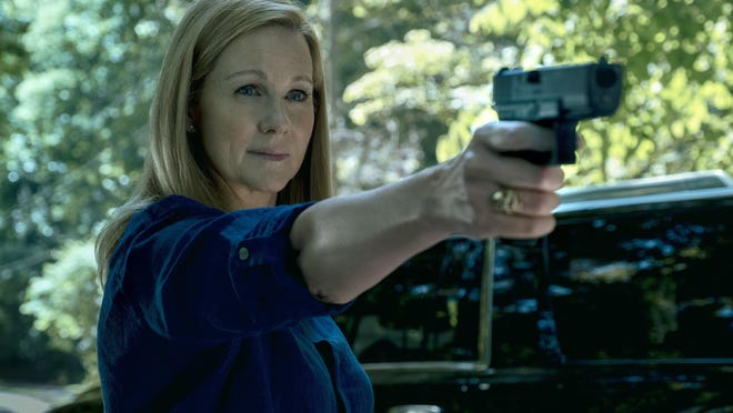 "Laura Linney was nominated for an Emmy Award for outstanding lead actress in a drama series for her role in ""Ozark."""