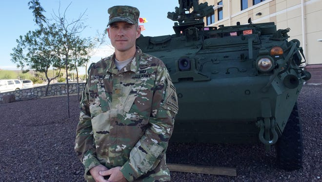 Maj. Russell B. Thomas is the operations officer for 1st Brigade Combat Team, 1st Armored Division. He is planning the brigade's train-up for its rotation at the Joint Readiness Training Center at Fort Polk, La.