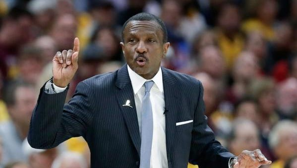 Dwane Casey is taking over as the Detroit Pistons' head coach.