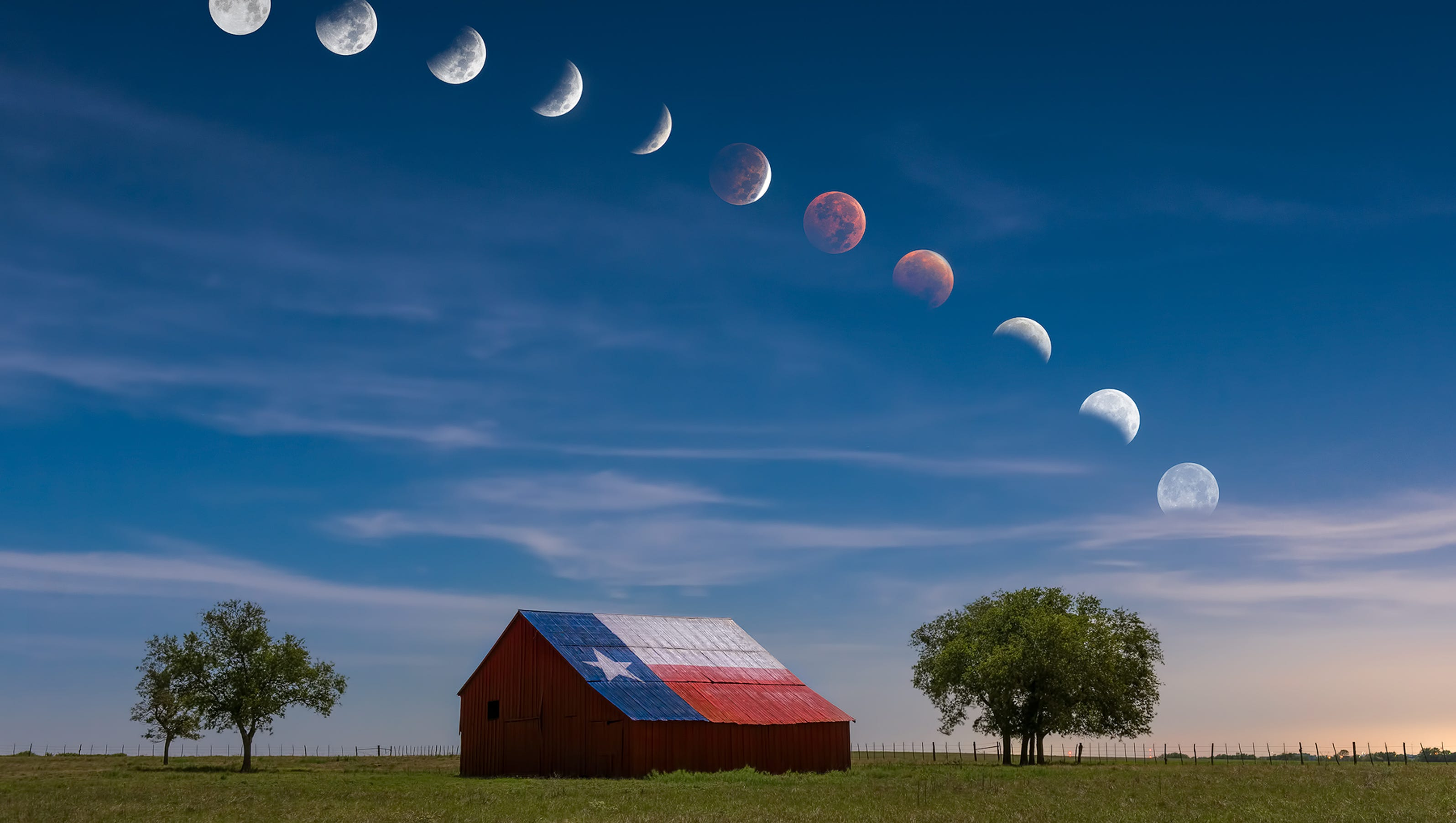 blood moon today in texas - photo #11