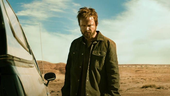 "Aaron Paul stars in ""El Camino: A Breaking Bad Movie."""