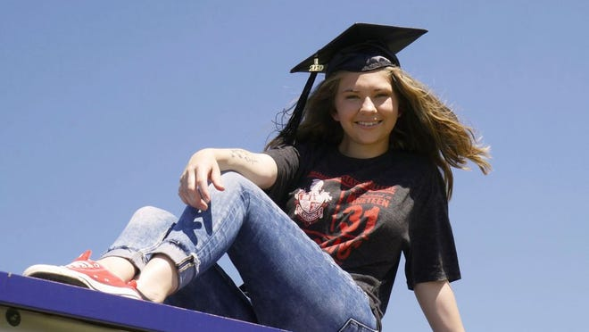 Seminole State College graduate Megan French, of Macomb, is one of the many graduates recognized at a virtual commencement ceremony on May 8.
