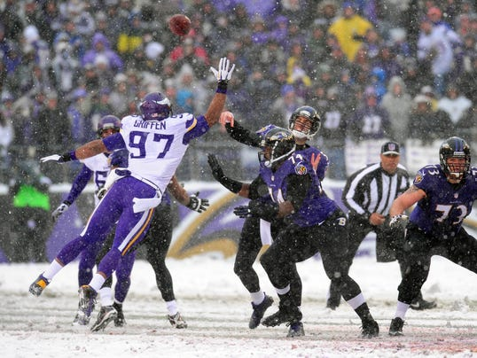 Vikings defensive end Everson Griffen