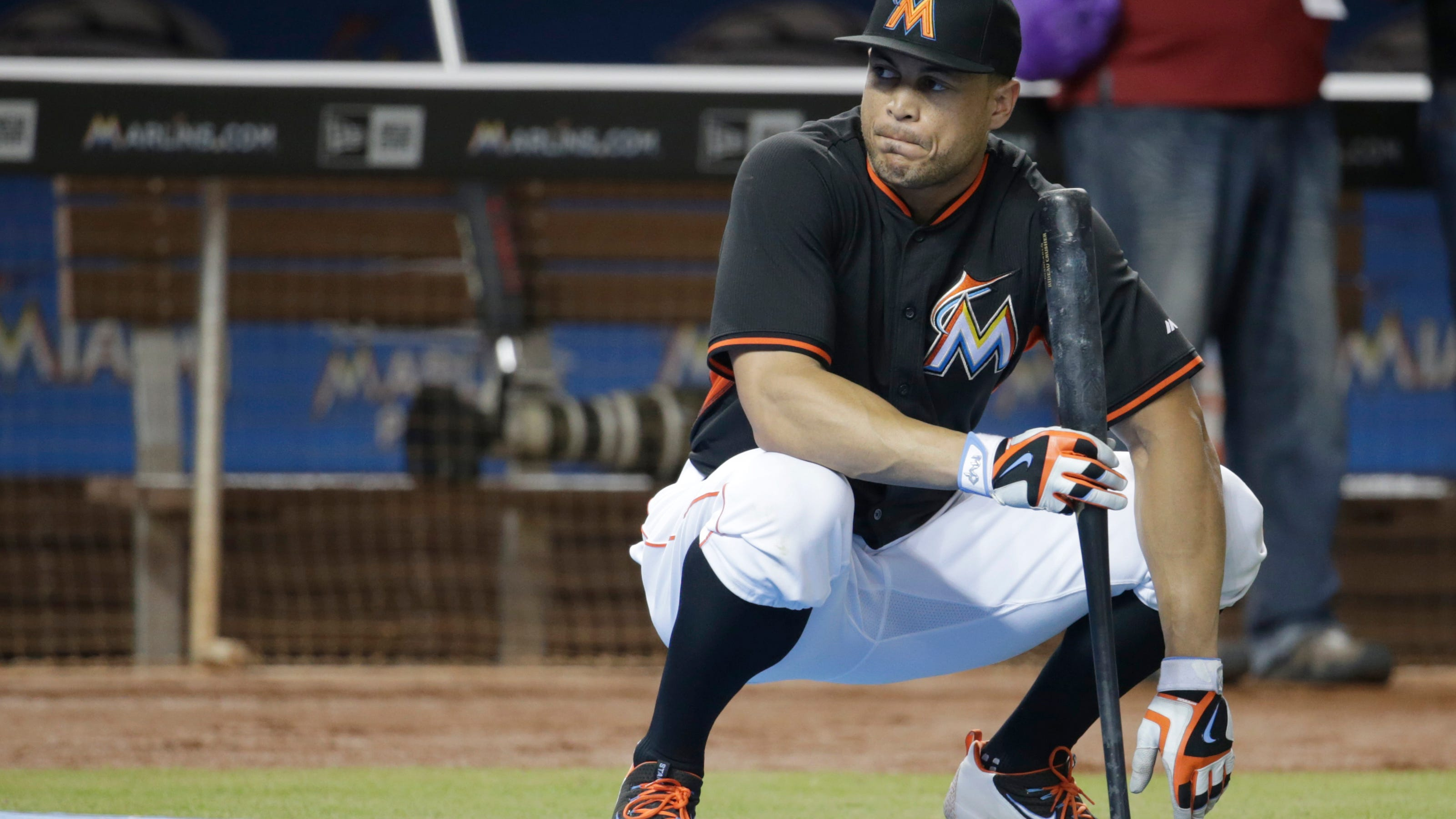 Slugger Stanton Eager To Rebound From Awful 2016 Season