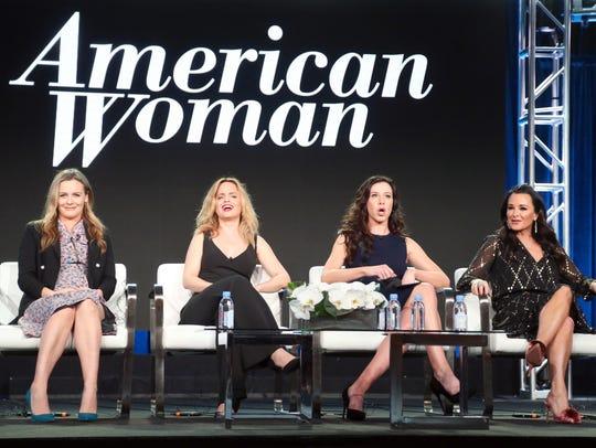 'American Network' stars Alicia Silverstone, left,